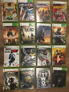 XBOX 360 GAMES: ASSORTED