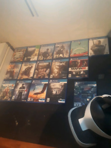 Ps4 games and virtual reality
