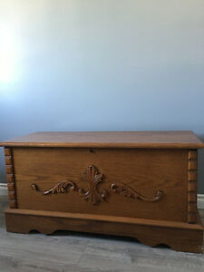 Oak Storage Trunk/Hope Chest Regina Regina Area image 1