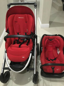 Bebe Confort (Maxi Cozi) Baby travel system including carry