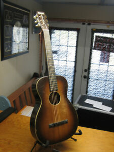 Very Old Slide Guitar - new strings / comes with slide
