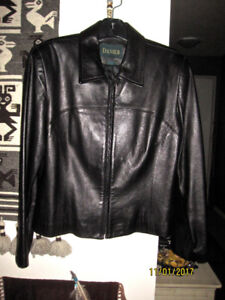 NEW DESIGNER LEATHER JACKET BY DANIER LEATHER