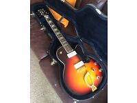 Guild M75 hollow body electric guitar