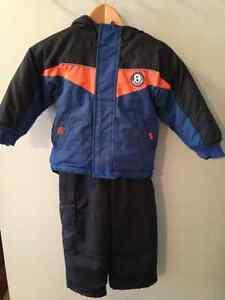 Please Mum Toddler Boy Snowsuit - Size 3T