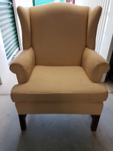Wingback Lounge chair from Wheaton's