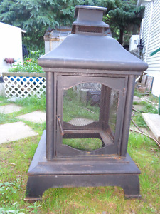 OUTDOOR FIREPLACE/STOVE