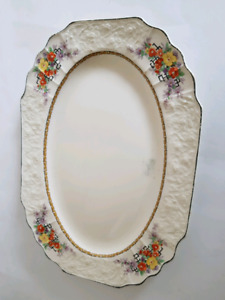 Moytt, Son and Co. Turkey Or Ham Serving Plate-Made in England