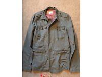 Firetrap men's military jacket