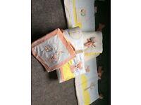 Tutti Bambini Woodland Walk Bedding Bundle - BRAND NEW