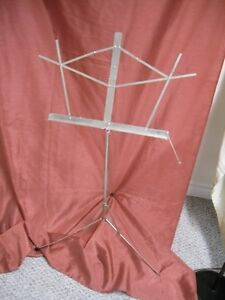 Crome Music stand