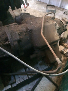 205 4 speed transmission and transfer case with PTO