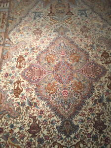 Rare Authentic Persian Rug - Tabriz NAMI 70 Raj