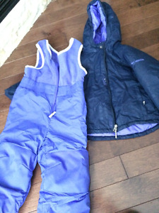 Girls Columbia Snowsuit