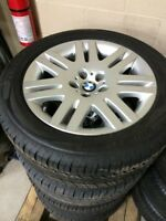 Bmw 7 series used 18 rim and tire package 745i Hillyard wheels
