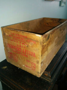 Antique Butter Box - Valley Creamery - Kingston Nova Scotia