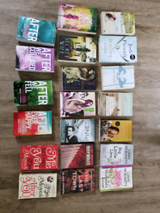 Used Books - 50$ for all, text for author bundle prices