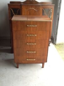 Vintage 5drawer chest of drawers