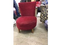 Small red chair