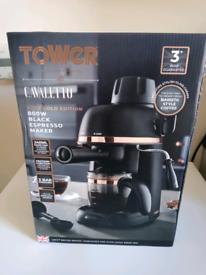 Tower Cavaletto Espresso Maker.