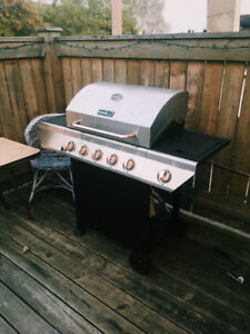 Nexgrill   5-Burner Propane Gas Grill in Stainless Steel