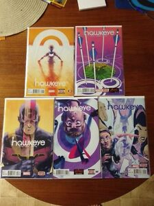 All New Hawkeye - 5 issue series