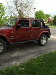 2008 Jeep Wrangler Sahara unlimited Other