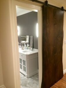 Barn doors and hardware rustic custom sliding Cambridge Kitchener Area image 4