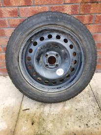 Pirelli p6000 wheel and tyre x 1