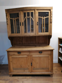 Antique French Rustic Dresser