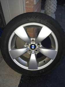 BMW FACTORY 17 INCH RIMS /TIRES