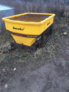 Wideout Blizzard Plow Complete with wiring & Snowex 6000 salter
