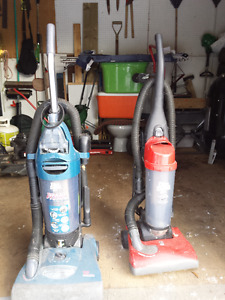 Two Dirt Devil vaccums
