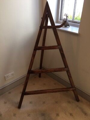 Antique Wooden Clothes Rack/ Stand / Horse / Ladder