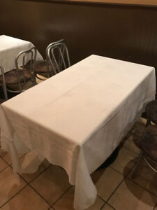 Restaurant & Catering Commercial Grade White Table Cloths