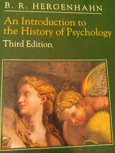 INTRODUCTION TO THE  HISTORY OF  PSYCHOLOGY West Island Greater Montréal image 1