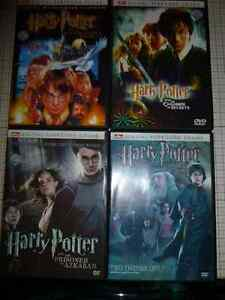HARRY POTTER  4 DVD