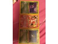 Pokemon character cards