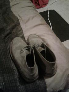 Men's Clark's shoes very gentley used