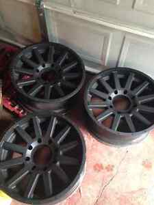 20x9 2011 and newer Chevy and gmc rims