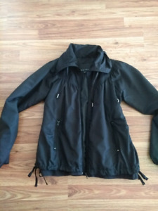 Black spring jacket. Size small-midium.