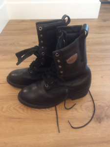 Red Wing Shoes motorcycle riding boots