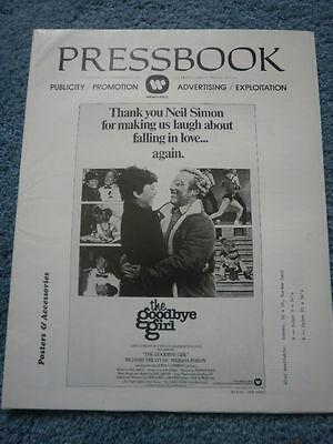 THE GOODBYE GIRL(1977)RICHARD DREYFUSS ORIG PB & HERALD