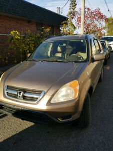 Honda CRV 2004 tout options 4x4