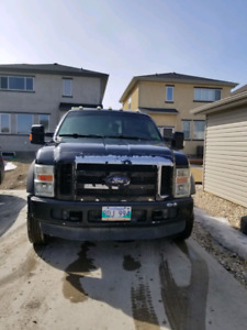2008 f550 tow truck