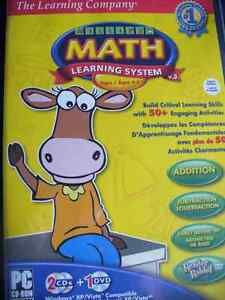 Cdrom Millie's Math Learning system