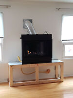Gas Fireplace Sales, Service and Installation