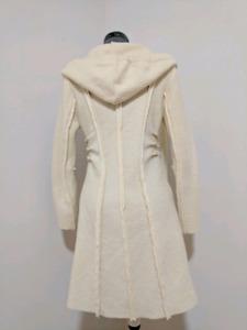 NEW 100% Wool Ivory women's jacket