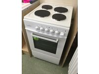 BRAND NEW cooker washer and under counter fridge freezer
