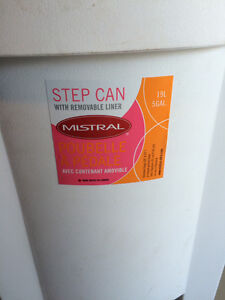 Like New Step on waste can.