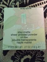 Clinique stay matte pressed powder - stay spice shade